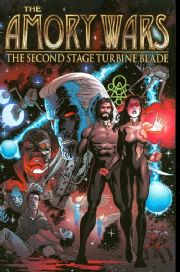Amory Wars Graphic Novel Second Stage Turbine Blade Trade Paperback